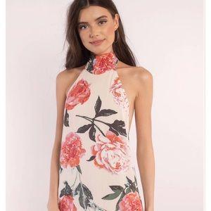 Tobi Floral Halter Dress